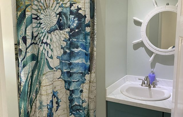 Bougainvillea – Bathroom view