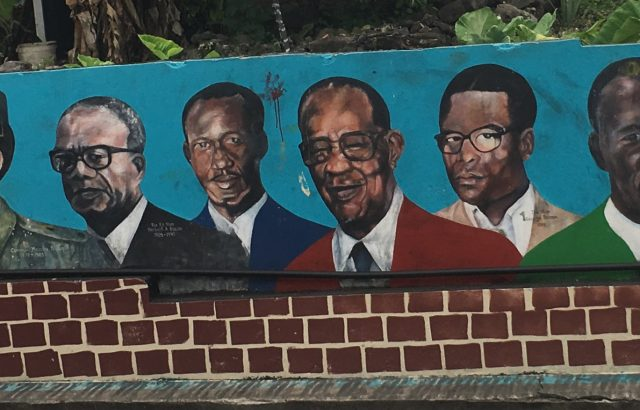 PM Mural wall