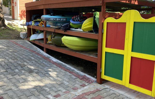 Property – kayak area